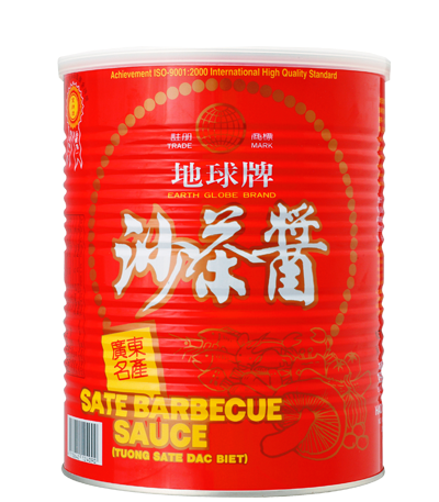 Earth Globe Brand Barbecue Sauce